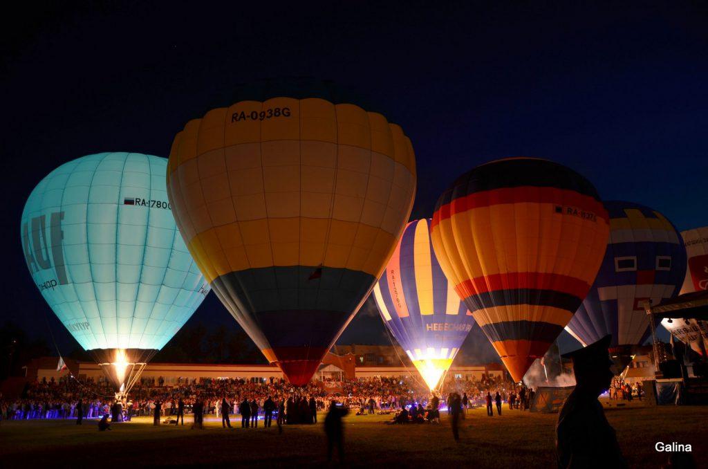 Фестиваль воздушных шаров в Кунгуре