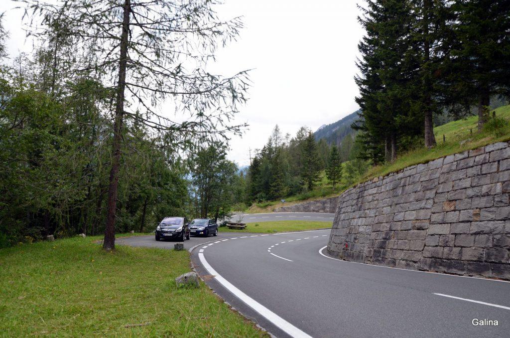 Высокогорная дорога Гроссглокнер Хохальпенштрассе