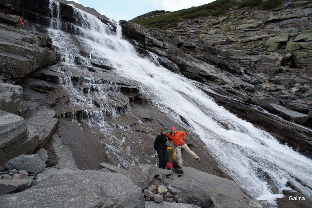 Водопад на Куркуле