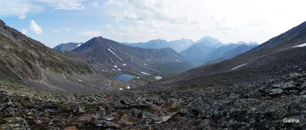 Вид с перевала Галкина