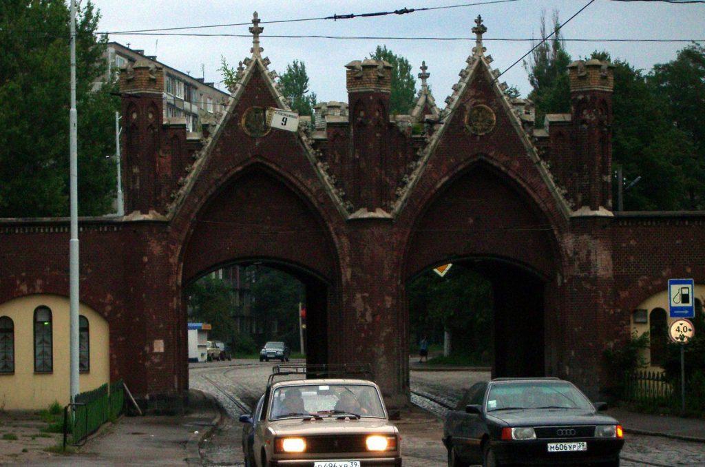Бранденбургские ворота Калининграда