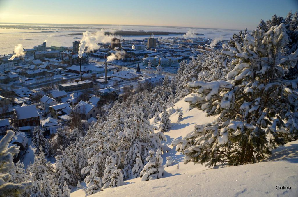 Ханты-Мансийск зимой