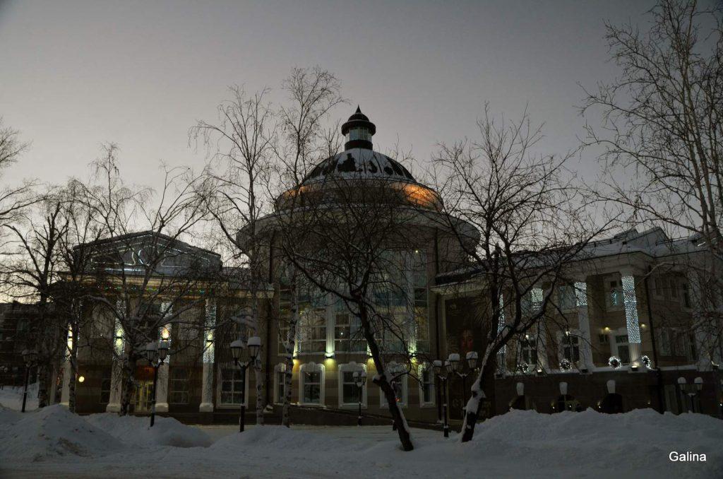 Центр города Ханты-Мансийска