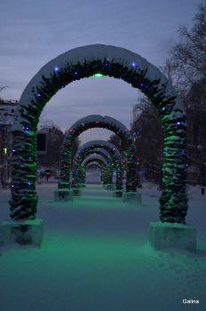Ночной Ханты-Мансийск