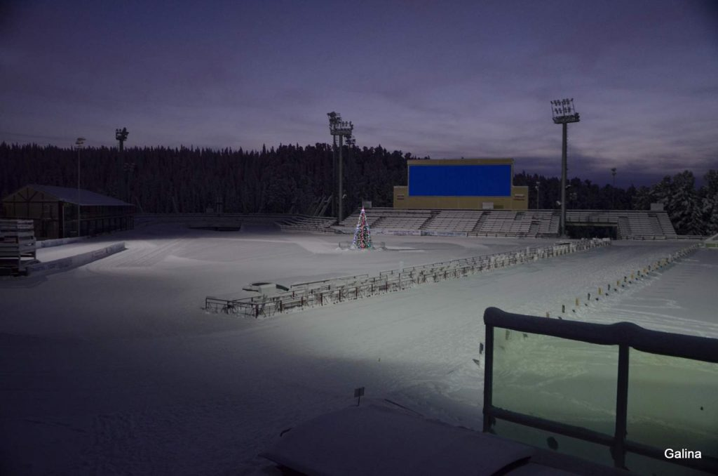 Биатлонный центр в Ханты Мансийске