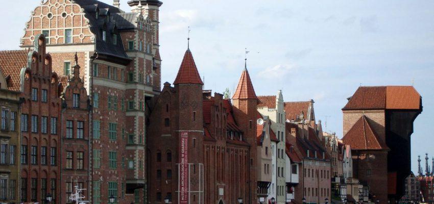 Набережная в Гданьске
