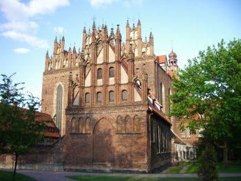 Костел Св.Троицы, город Гданьск