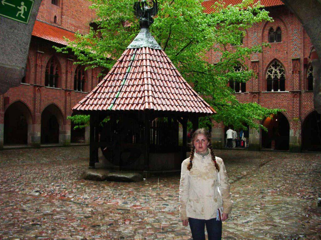 Замок Мальборк, двор высокого замка