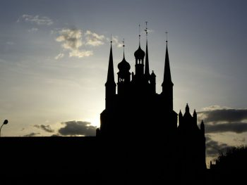 Гданьск на закате