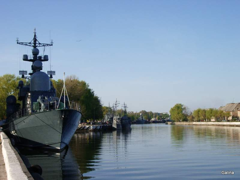 Балтийск, военные корабли