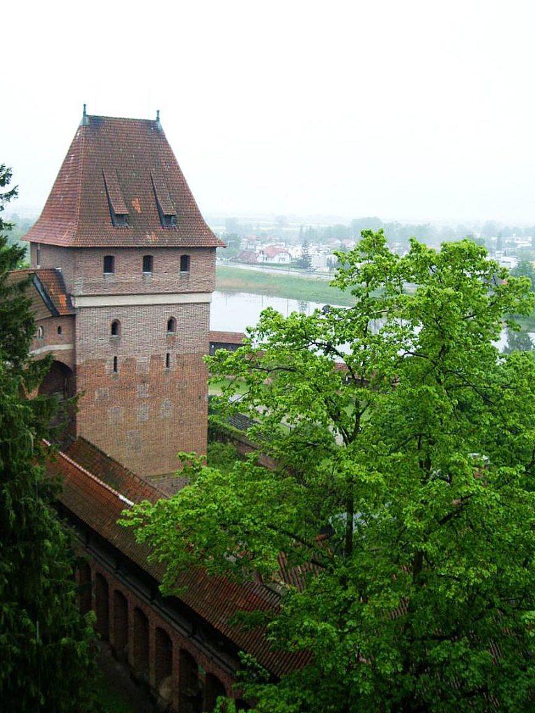 Замок Мальборк, башня Гданиско