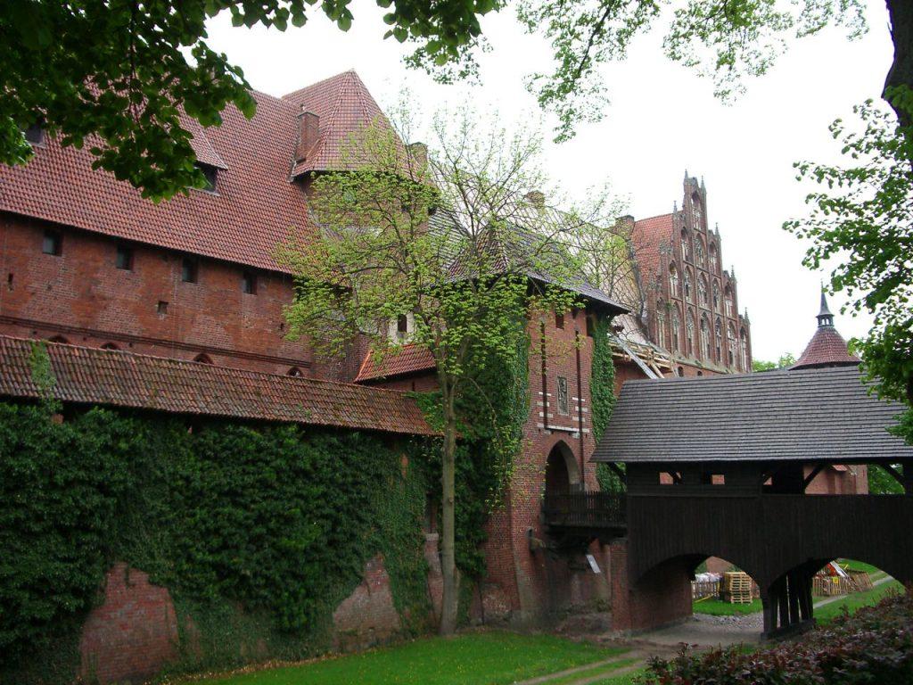 Замок Мальборк, главный вход