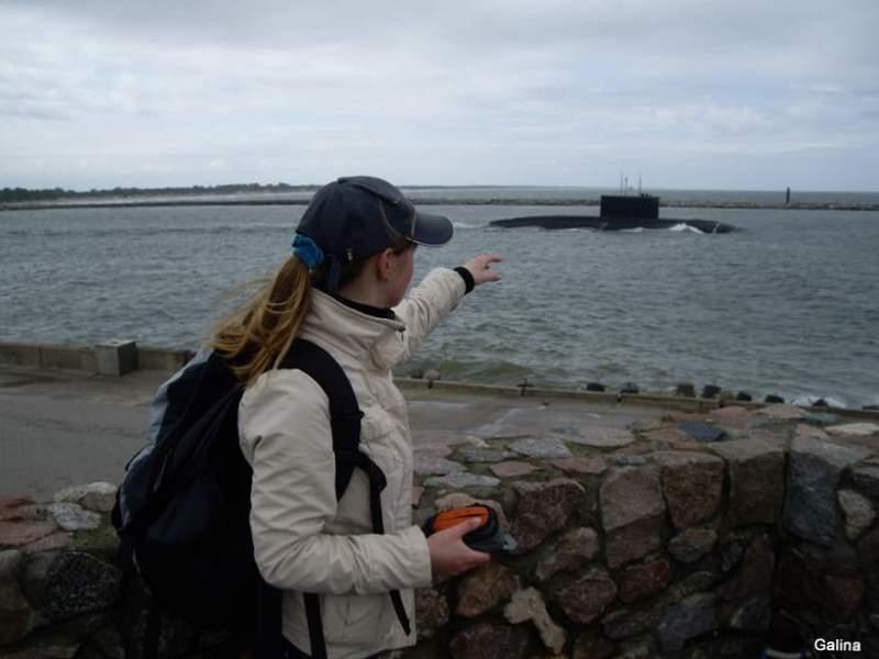 Балтийск, подводная лодка