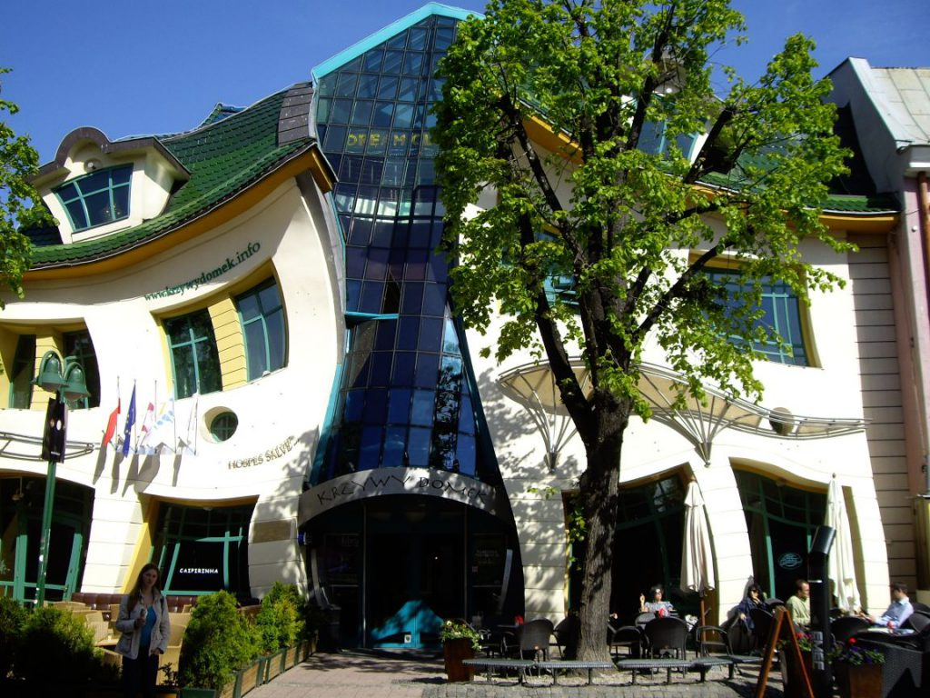 город Сопот, танцующий дом