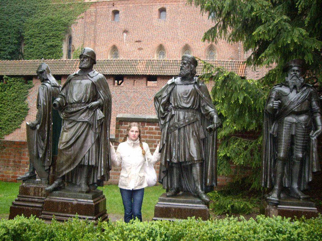 Замок Мальборк, великие магистры