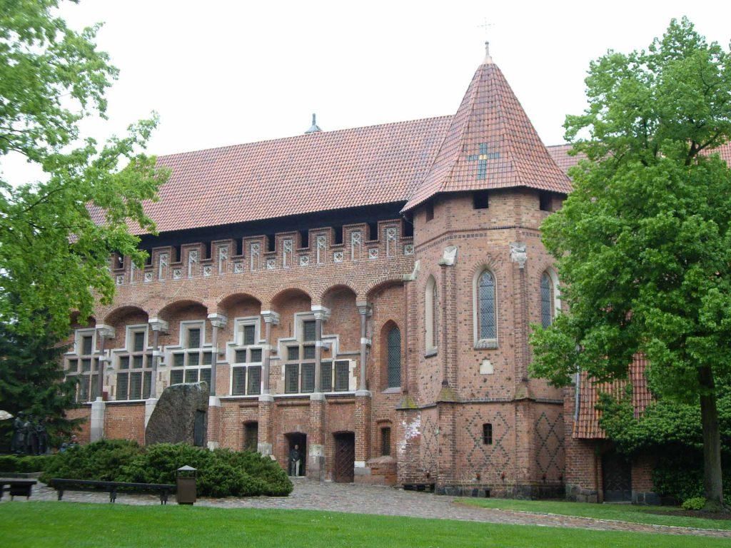 Замок Мальборк, дворец великих магистров