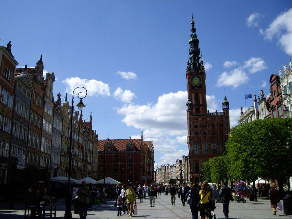 Улица Длуги Тарг, Гданьск