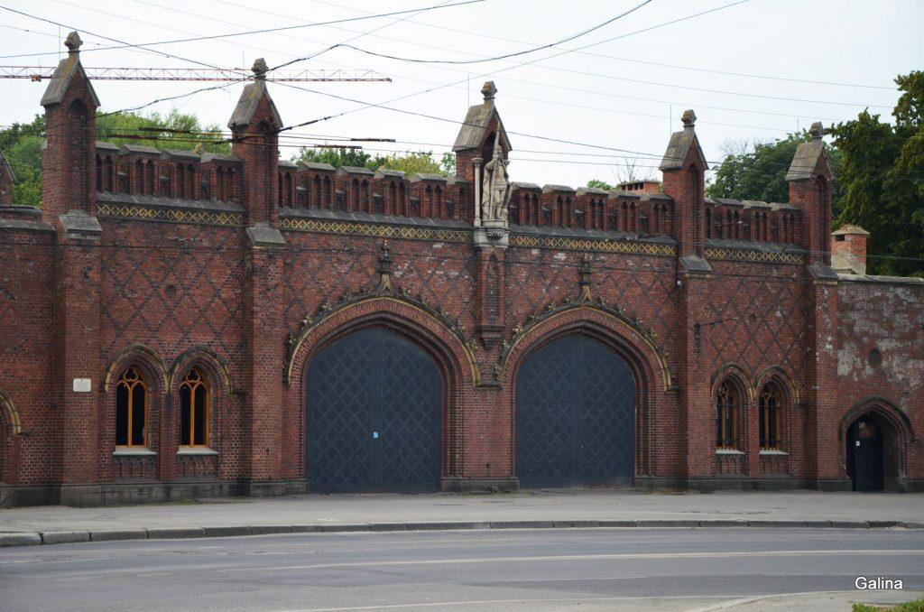 Фридландские ворота Калининграда
