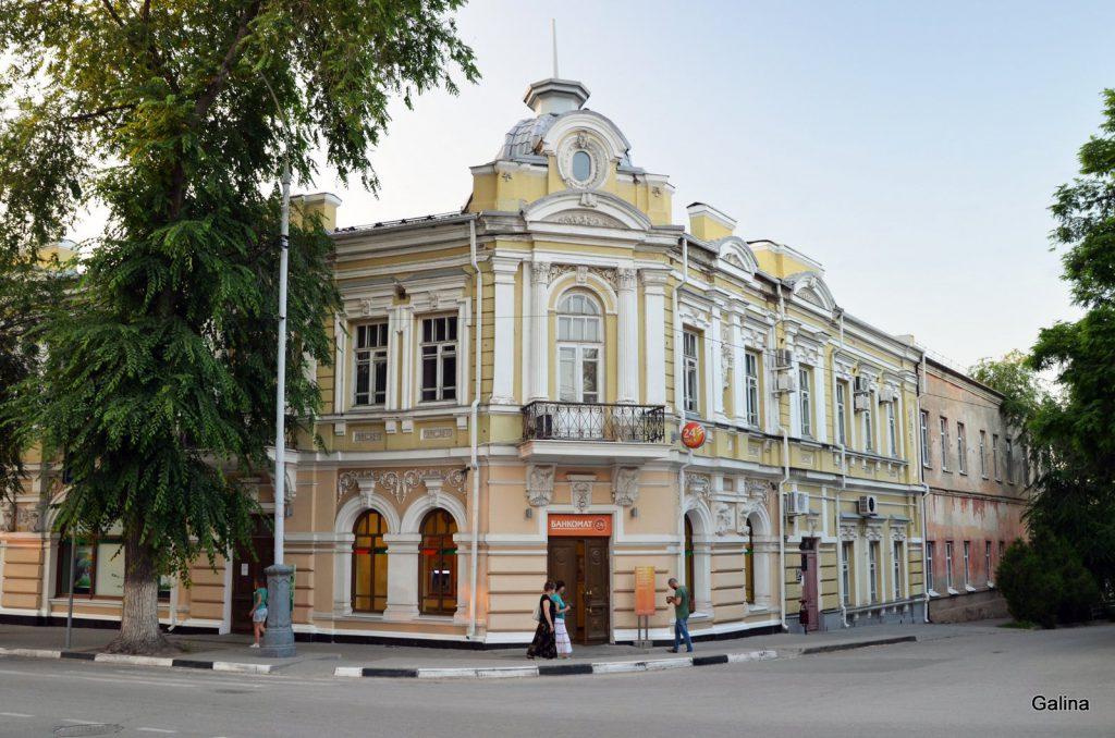 Дом купца Гладкова Таганрог