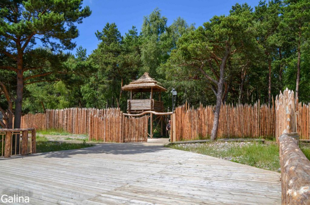 Деревня времен викингов Самбия