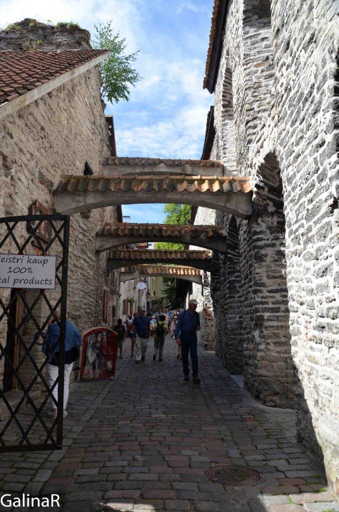 Переулок святой Екатерины в Таллине