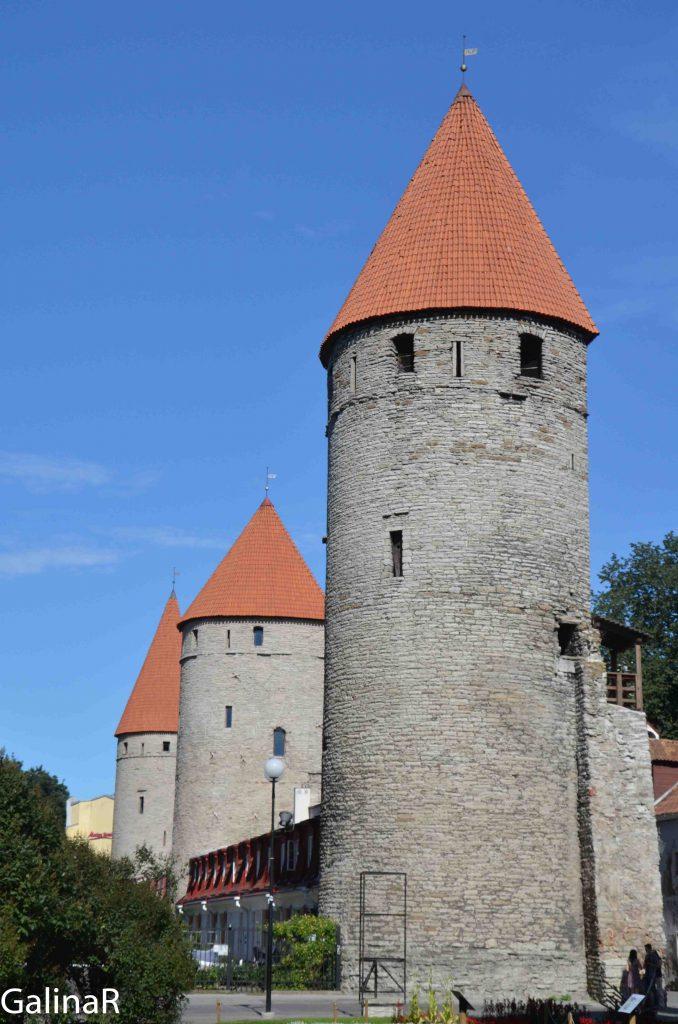 Крепостные стены Таллина