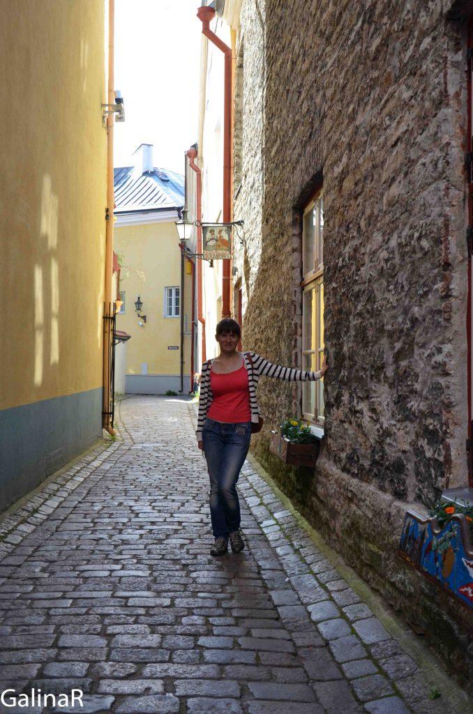 Самая узкая улица Таллина