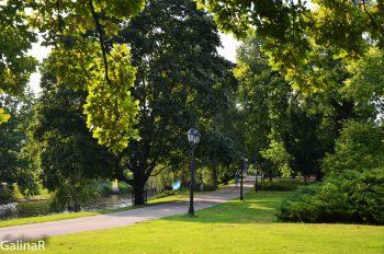Парк вокруг старого города Риге