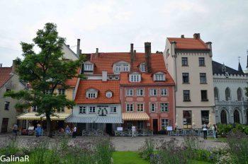 Старый город в Риге