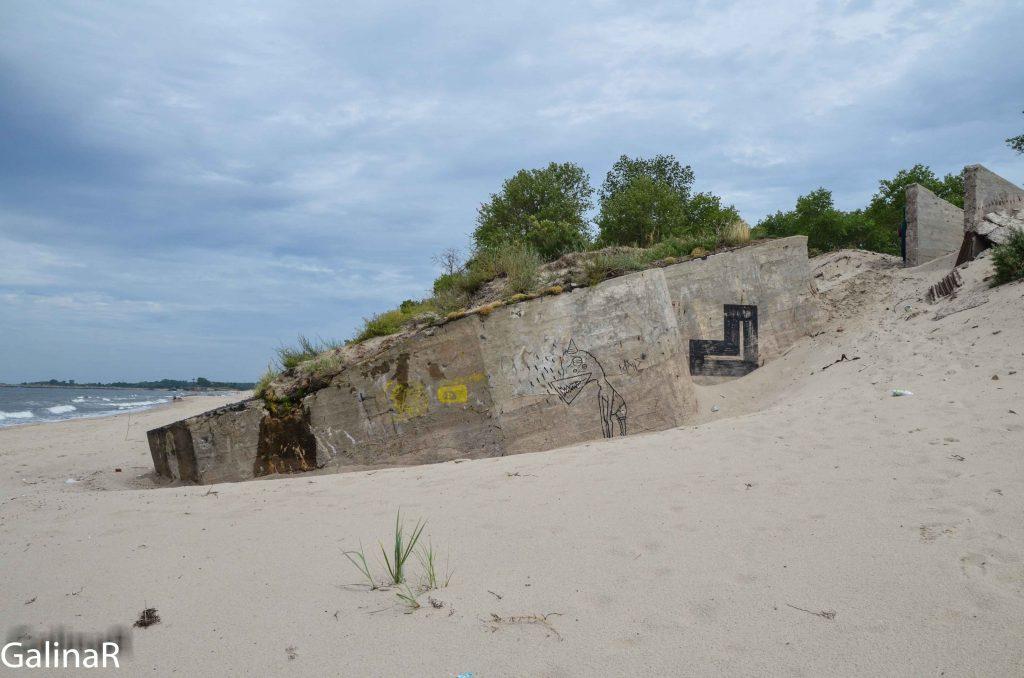 Дальномерный бункер Батареи Нойтиф