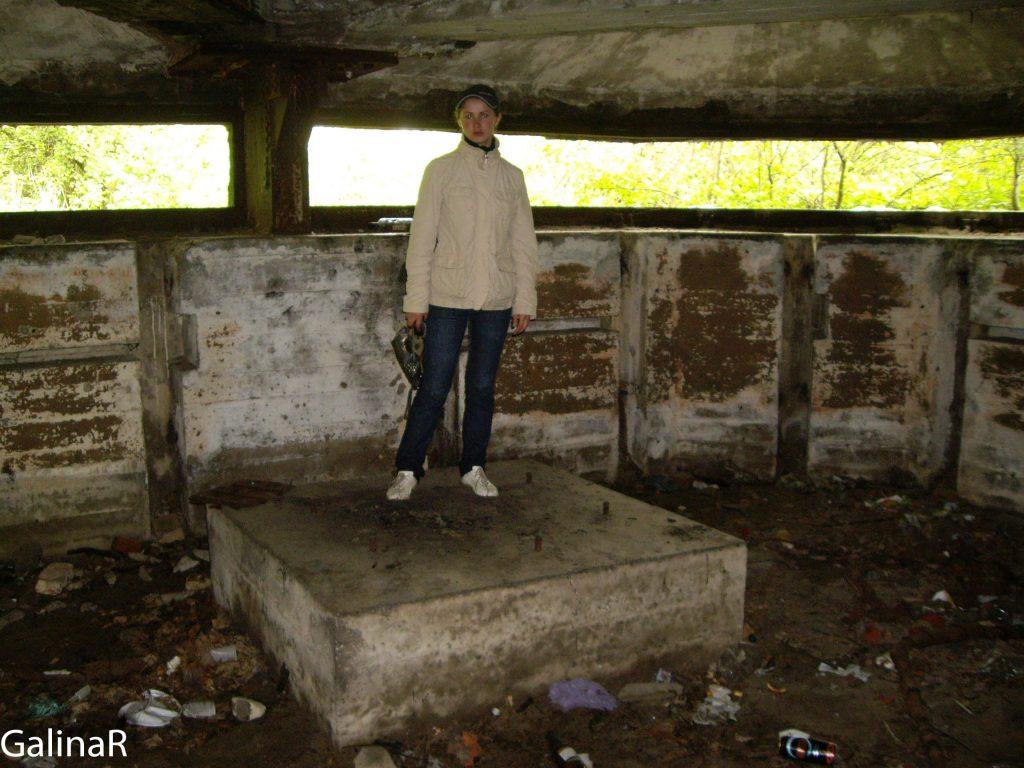 Двухэтажный бункер целеуказания в 2009 году