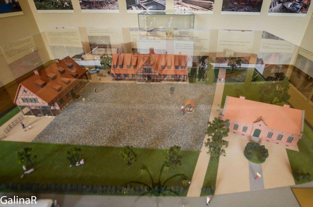Макет будущей экспозиции музея Канта