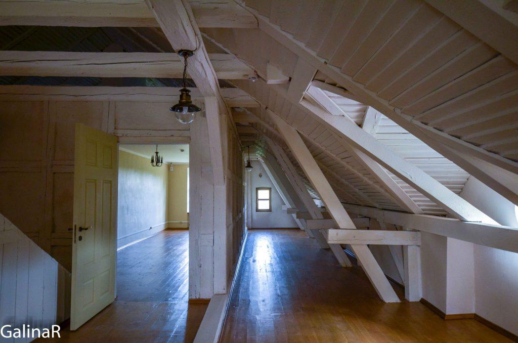 Второй этаж усадьба Юдшен, где жил Кант