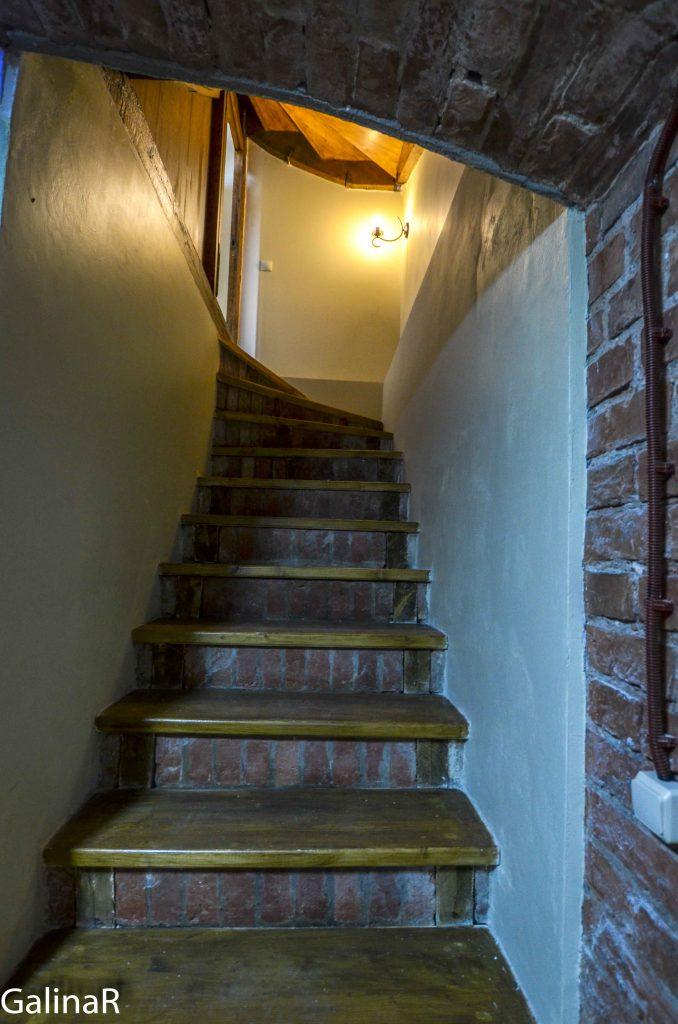 Лестница в подвалы усадьба пастора прихода Юдшен где жил Кант