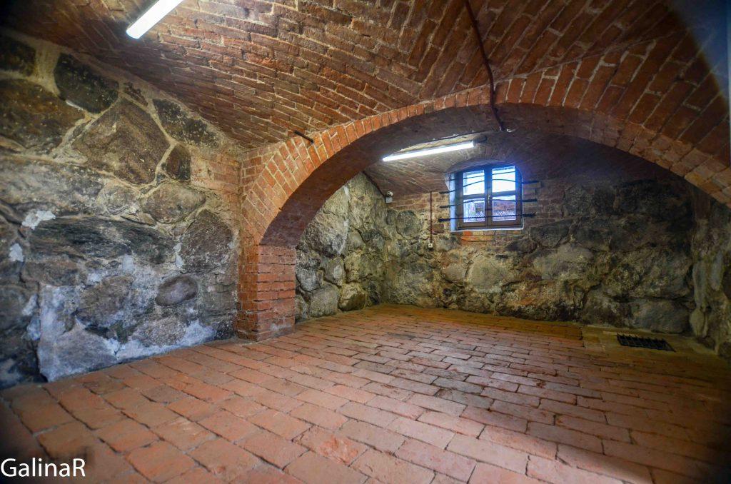 Подвалы усадьба пастора прихода Юдшен где жил Кант