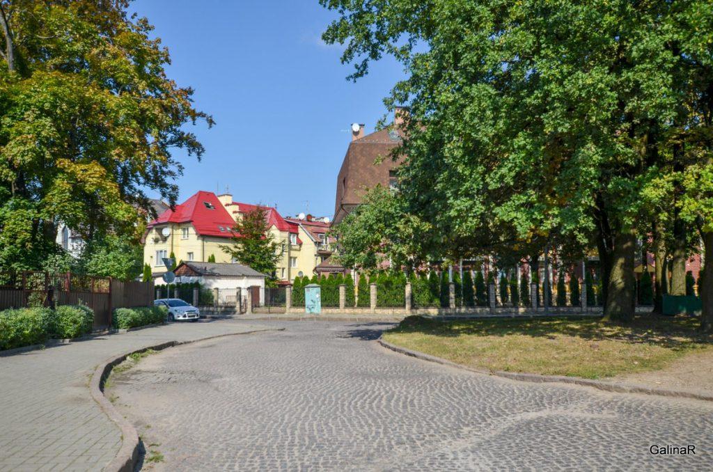 Сквер короля Оттокара в Марауненхоф в Калининграде