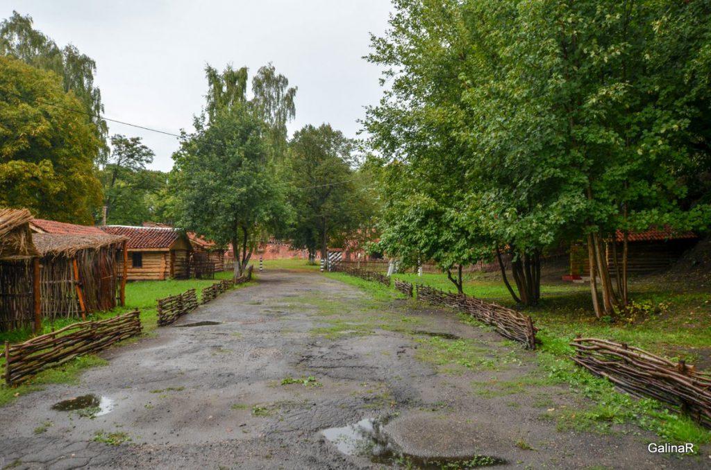 Полевой лагерь русской армии 18 века в форте Пиллау
