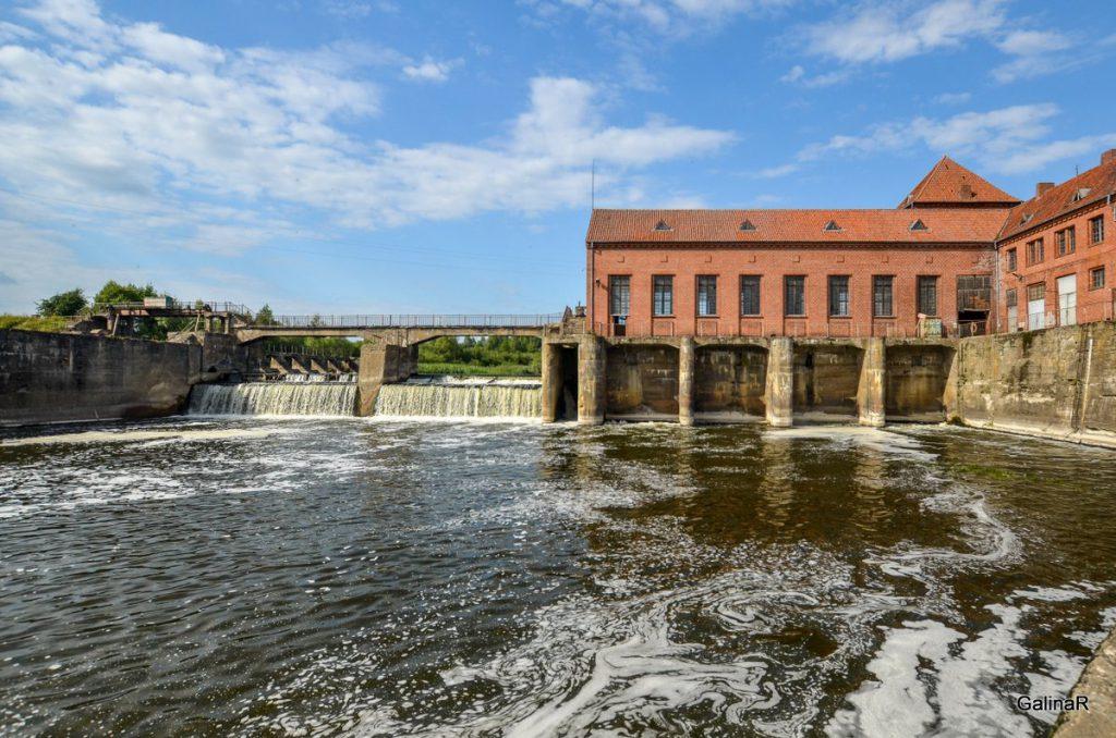 ГРЭС-4 на реке Лава в Курортном Правдинского района Калининградской области