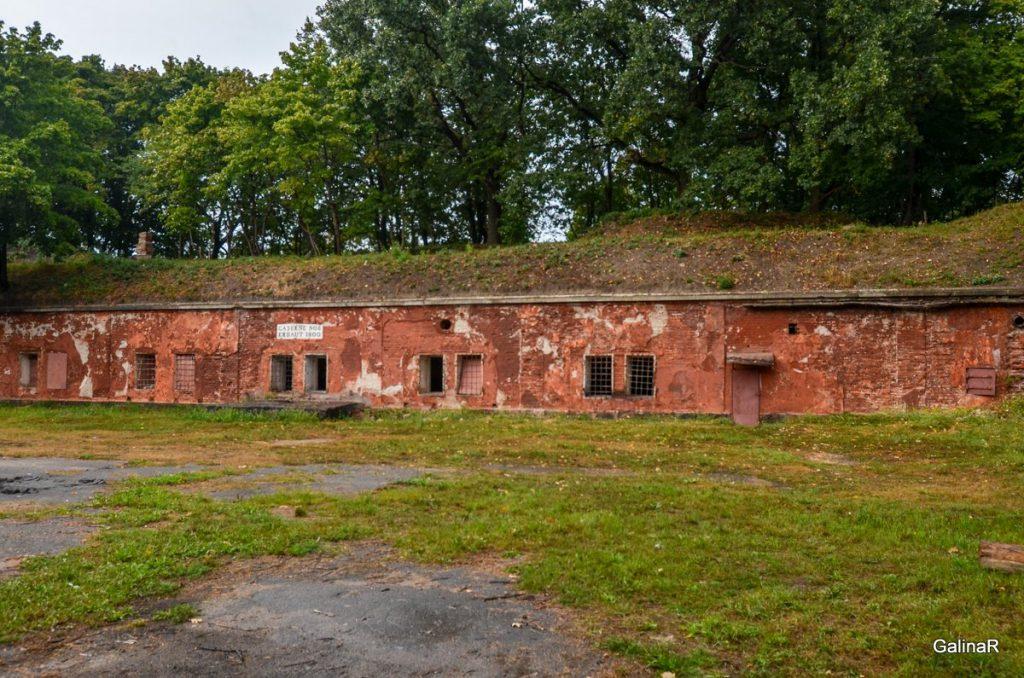 Гарнизоны форта Пиллау с годом постройки 1800