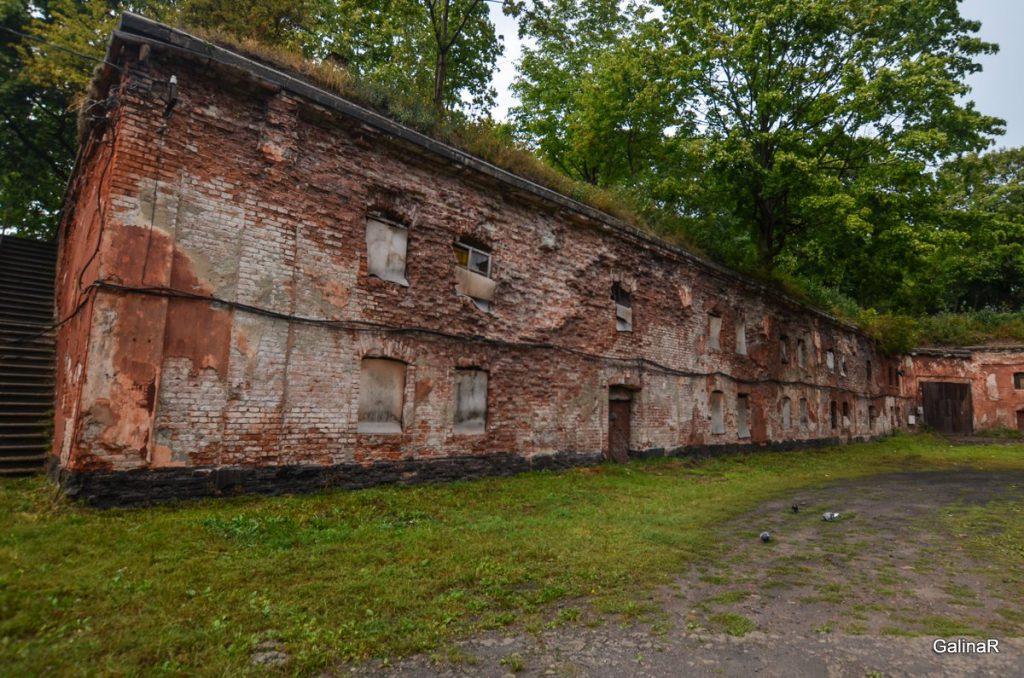 Гарнизоны форта Пиллау