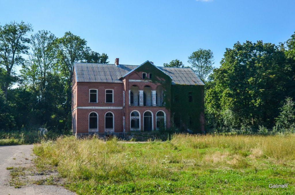 Усадьба Шрёттеров в Курортном Правдинского района Калининградской области