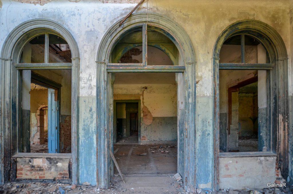 Внутренние помещения усадьба Шрёттеров в Курортном Правдинского района Калининградской области