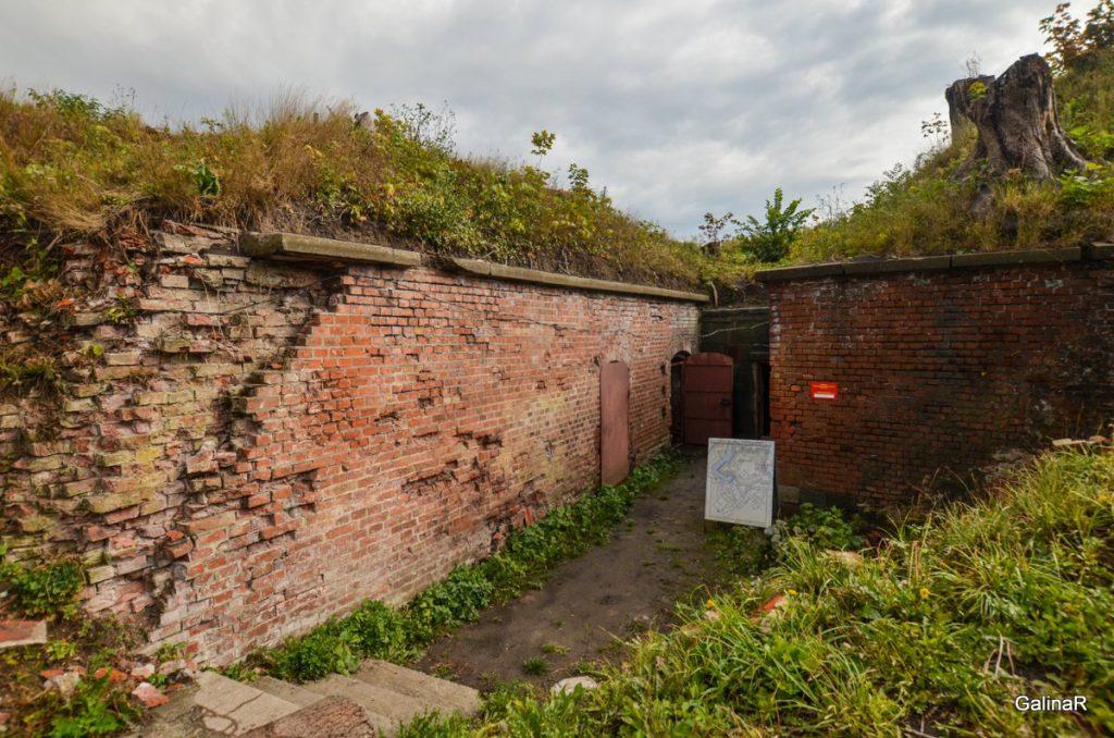 Бастиона Альбрехт форта Пиллау