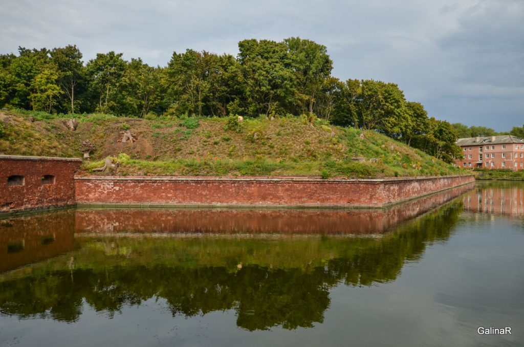 Ров вокруг форта Пиллау