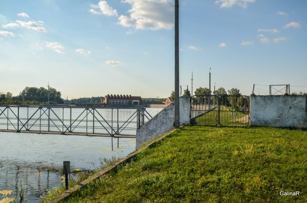 ГРЭС-3 на реке Лаве в Правдинске Калининградской области