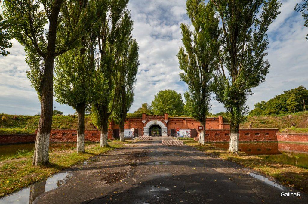 Вход в форт Пиллау