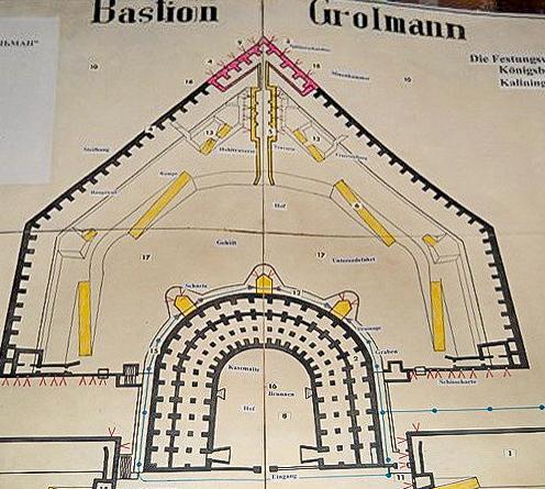 Схема бастиона Грольман