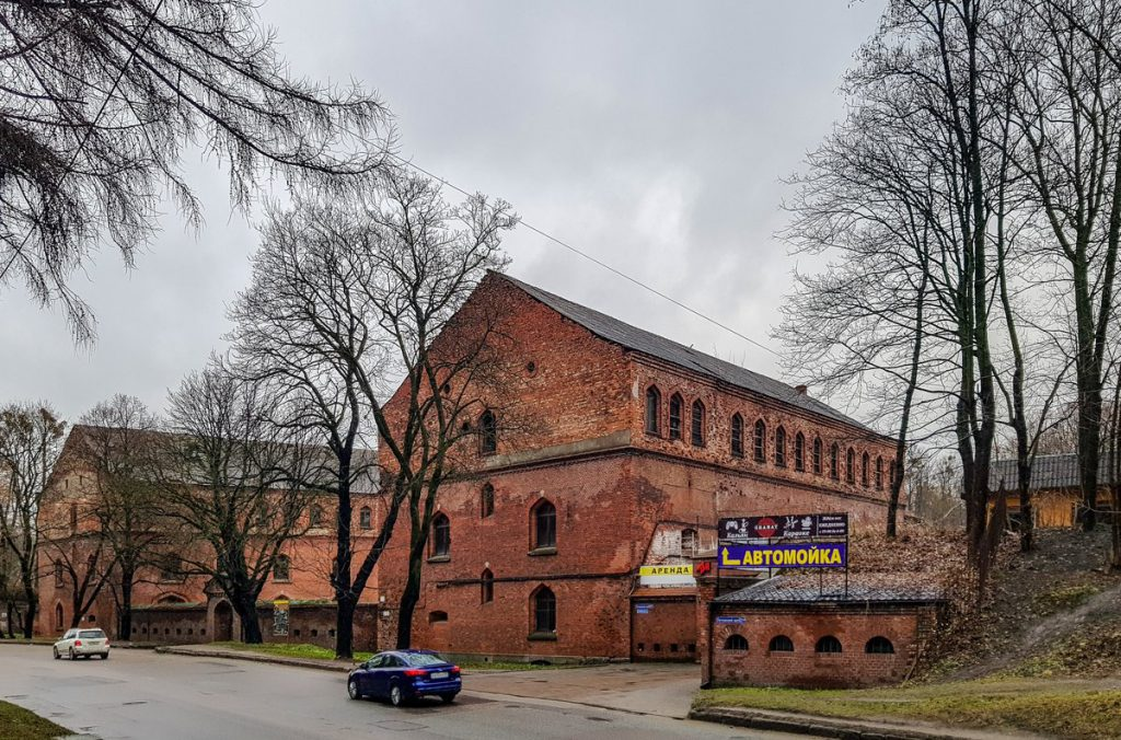 Бастион Грольман со стороны Литовского Вала