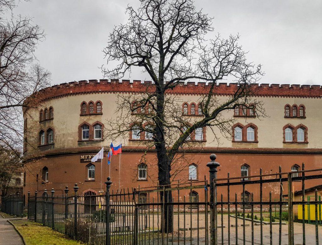 Бастион Кронпринц в Калининграде