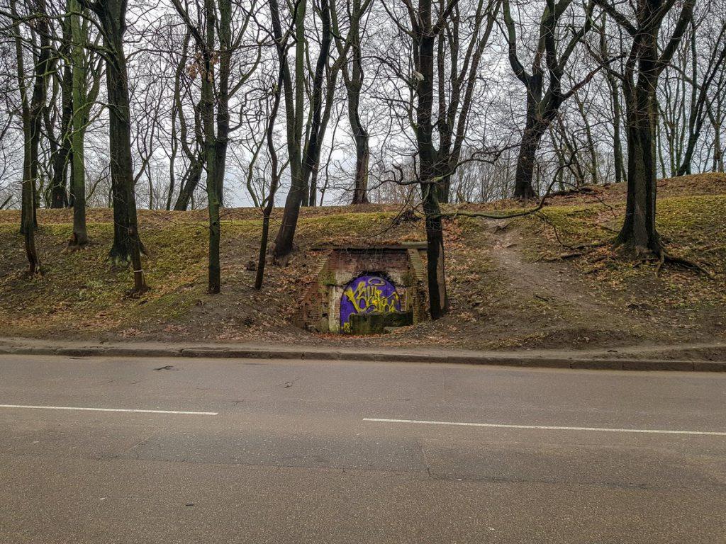 Потерна бастиона Грольман в Калининграде